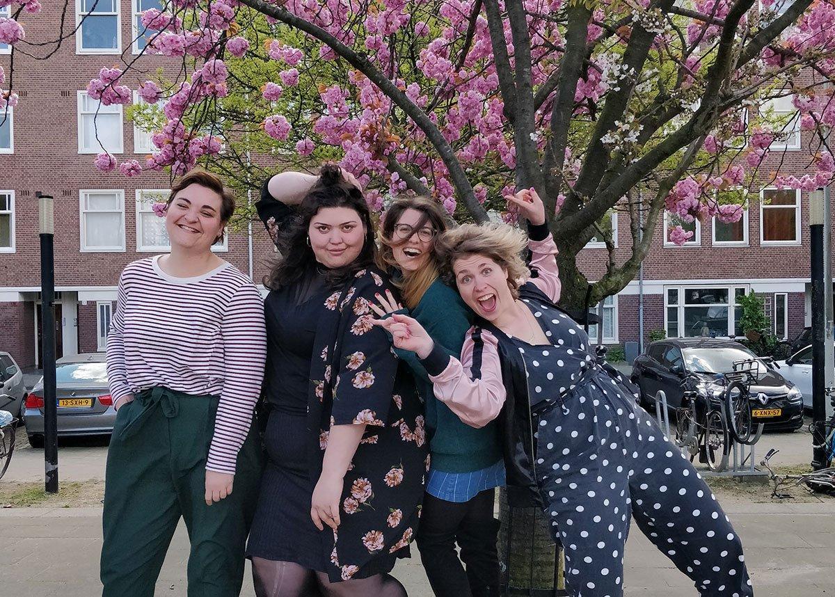 DAMN, HONEY met Merel Wildschut en Tatjana Almuli