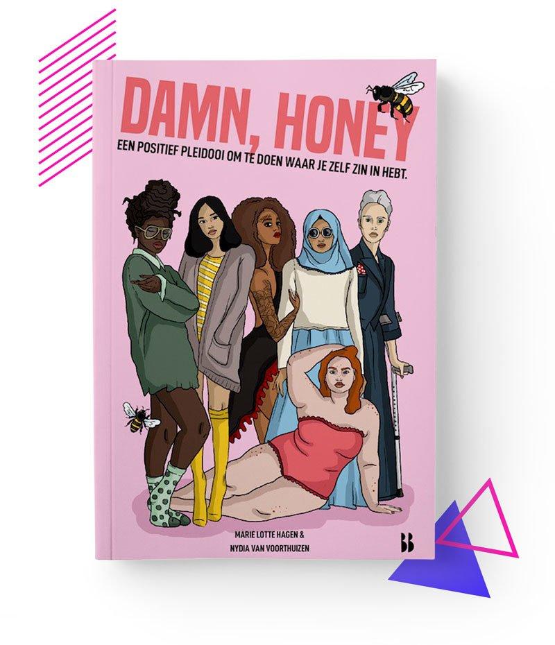 DAMN, HONEY feministisch pamflet boek